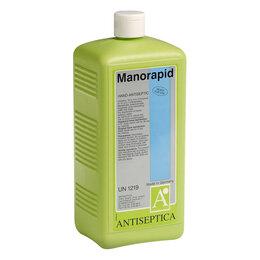 Дезинфицирующие средства - Манорапид антисептик для рук и тела Германия 1 литр, 0