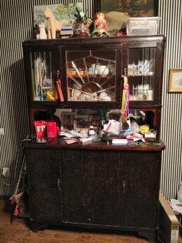 Комоды - буфет (сервант) 60х годов с обработкой морилкой, 0