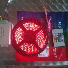 Светодиодные ленты - RGB-контроллер + RGB лента 2х5 метров( 10м), 0