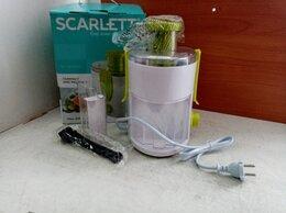 Соковыжималки и соковарки - Соковыжималка Scarlett SC-JE50P01 (OEM), 0