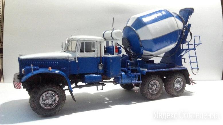 Модель автомобиля,Краз 255в бетоносмеситель, 1/35 по цене 3000₽ - Сборные модели, фото 0
