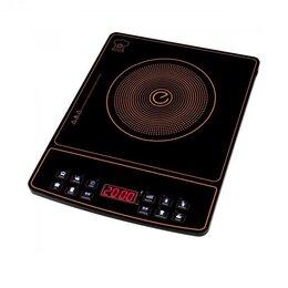 Плиты и варочные панели - Плита индукционная сенсорная 2 кВт (2000 Вт) Новая, 0