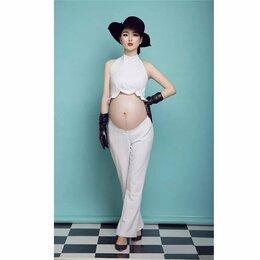 Костюмы - Брючный костюм для фотосессии будущей мамы, 0