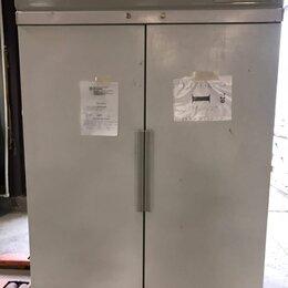 Холодильные шкафы - Шкаф холодильный комбинированный POLAIR ШХК-0,7-0,7, 0
