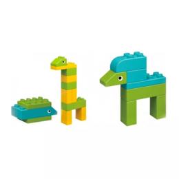 Игровые наборы и фигурки - Детский конструктор Xiaomi MITU (Rice Rabbit) Large Particle Building Animal ..., 0