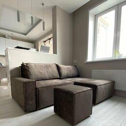 Диваны и кушетки - Модульный двухместный дизайнерский диван из велюра, 0