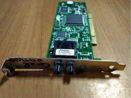 Сетевые карты и адаптеры - Сетевая оптическая карта PCI, 0