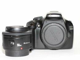 Фотоаппараты - Canon 1100D kit YongNuo 50 1,8, 0