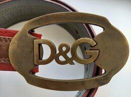 Ремни и пояса - Ремень женский кожаный оригинал D&G , 85, 0