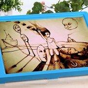 Игровые наборы и фигурки - Набор для рисования песком, световой (голубой), 0