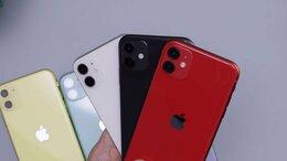 Мобильные телефоны - iPhone 11 64Gb red (красный), 0