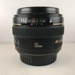 Объективы - Canon EF 50mm 1.4 USM (A104), 0