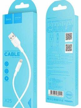 """Зарядные устройства и адаптеры - Кабель """"Hoco"""" X25 1 м для Iphone 5S, 0"""