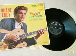 """Виниловые пластинки - Duane Eddy - """"Twangin'"""" Up A Storm! 1963 LP,…, 0"""