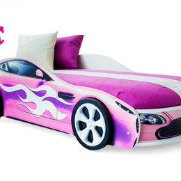 Кроватки - Кровать-машина Бондмобиль, розовый, 0