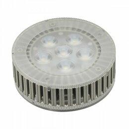 Лампочки - Лампа светодиодная SLV GX53 7.5Вт 3000K 550082, 0