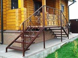 Лестницы и элементы лестниц - Кованое крыльцо для дома, дачи, магазина или офиса, 0