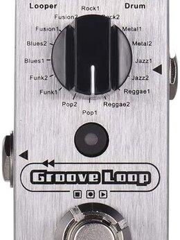 Процессоры и педали эффектов - Мини-педаль эффектов для гитары Mooer Groove Loop, 0