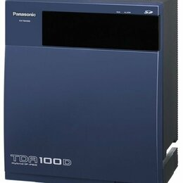 Проводные телефоны -  Panasonic KX-TDA100RU мини телефонная станция, 0