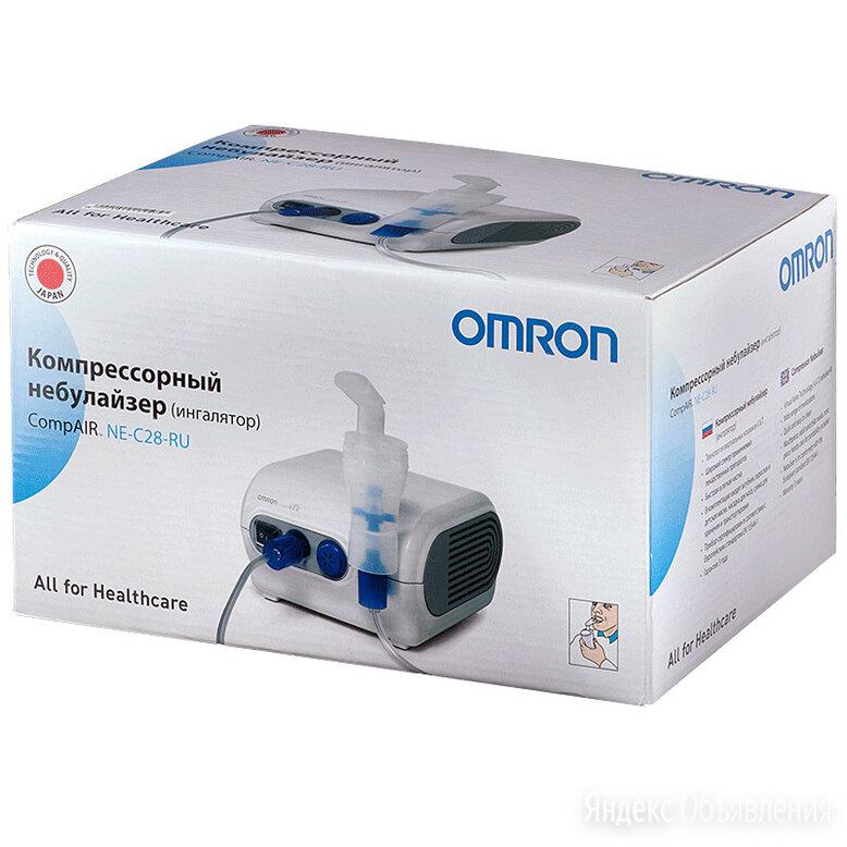 Ингалятор (небулайзер) Omron compair NE-C28-RU по цене 5800₽ - Устройства, приборы и аксессуары для здоровья, фото 0