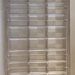 Кондитерские аксессуары - Форма для изготавливания шоколадных плиток 15 гр CHOKOLATFORM, 0