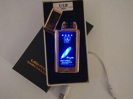 Пепельницы и зажигалки - Зажигалка USB с подсветкой перо, 0