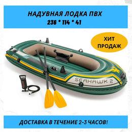 Надувные, разборные и гребные суда - Двухместная Надувная лодка для рыбалки пвх нднд, 0
