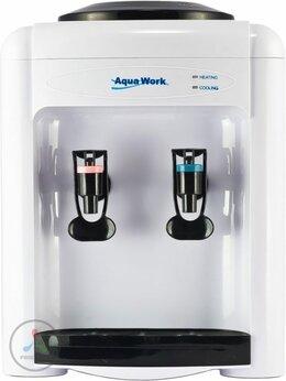 Кулеры для воды и питьевые фонтанчики - Кулер для воды Aqua Work 0.7TK (белый), без…, 0