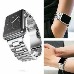 Чехлы - Ремешок для Apple Watch 38/40mm (металл серебро), 0
