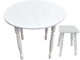 Столы и столики - Стол круглый раздвижной, 0