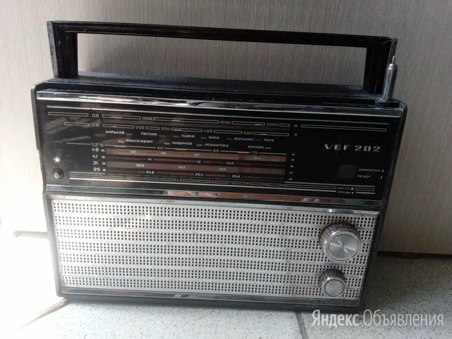 Радиоприемник VEF202.Доставка по цене 1000₽ - Радиоприемники, фото 0