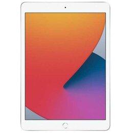 Планшеты - Apple iPad 10.2'' Wi-Fi + Cellular 32GB Silver (2020), 0