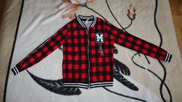 Куртки и пуховики - Куртка клетчатая для девочки рост 146, 0