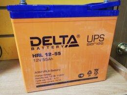 Аккумуляторы и зарядные устройства - Аккумулятор Delta HRL 12-55, 0
