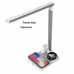 Настольные лампы и светильники - Лампа настольная+док станция для зарядки 4в1, 0