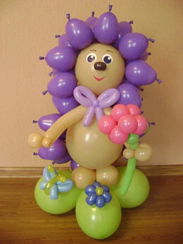 Воздушные шары - Композиции, Фигуры, Вазы с Цветами, Детские…, 0