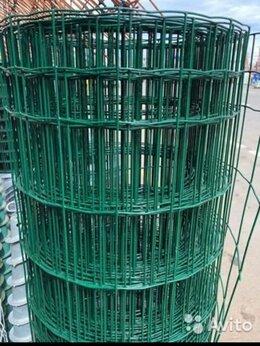 Сетки и решетки - Сетка сварная в пвх, Ячейка 50*100, еврозабор высо, 0
