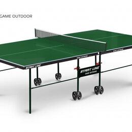 Столы - Теннисный стол Start Line Game Outdoor green 6034-1, 0
