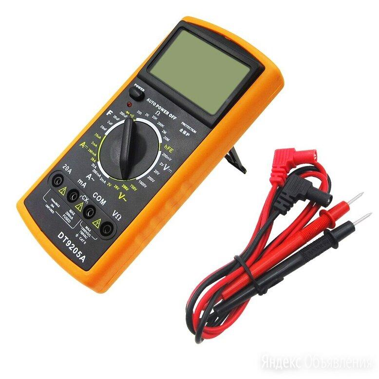 Мультиметр цифровой Digital DT9205A по цене 950₽ - Измерительные инструменты и приборы, фото 0