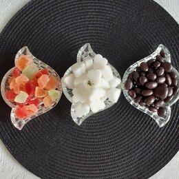 Блюда, салатники и соусники - Розетки  хрустальные 12 штук, 0
