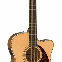 Акустические и классические гитары - Электроакустическая гитара Fender PM-3CE STANDARD TRIPLE O, NAT, 0