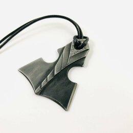 Кулоны и подвески - Молот Тора «Нифльхейм» Мьельнир. Кованая сталь, 0