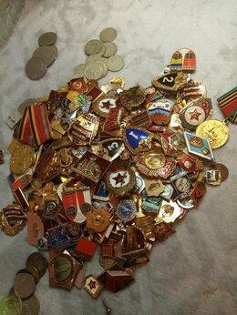 Дипломы, медали, значки - Значки, манеты, 0