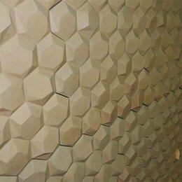 "Фасадные панели - Фасадный, цокольный камень (сайдинг, панель) ""Соты"" 500х500х25 мм, 0"