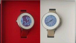 Умные часы и браслеты - Часы Pebble Time Round Red и Gray Русское меню…, 0