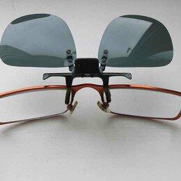 Очки и аксессуары - Съемная солнцезащитная накладка на детские очки, 0