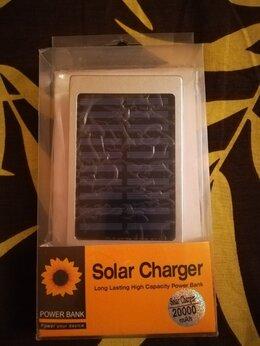 Универсальные внешние аккумуляторы - Power Bank 20.000mAh C солнечной батареей , 0