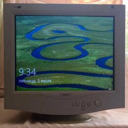Мониторы - Монитор Philips 17 дюймов плоский экран crt  не жидкокристаллический, 0