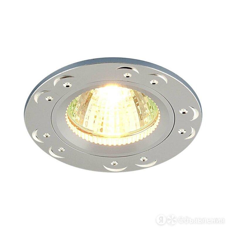Встраиваемый светильник Elektrostandard 5805 MR16 SS сатин серебро 4690389009136 по цене 238₽ - Люстры и потолочные светильники, фото 0