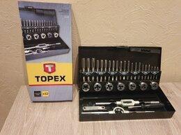 Плашки и метчики - Набор метчиков и плашек topex 14A426 (Новый), 0